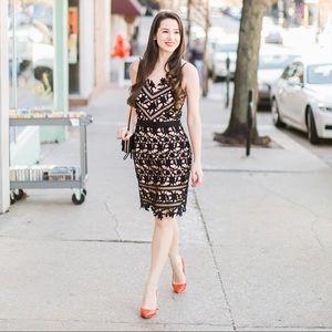 Adelyn Rae Whitney Sheath Dress, Size Small